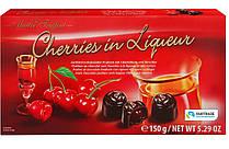 Шоколадные конфеты Вишня в ликере Maitre Truffout 150 гр