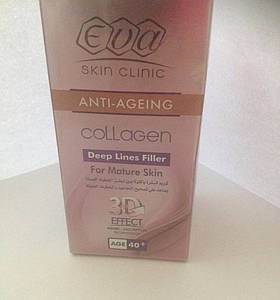 Крем Єва Eva eva collagen 40+. єгипет. крем для обличчя. поживний. колаген