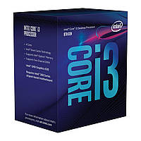 Центральний процесор Intel Core i3-8100 4/4 3.6GHz 6M LGA1151 65W box