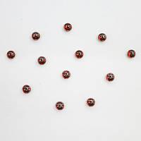 Кабошоны Preciosa (Чехия) 3 мм Crystal Red Flame 25157