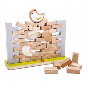 Гра дерев'яна Jenga стіна Classic World, фото 2