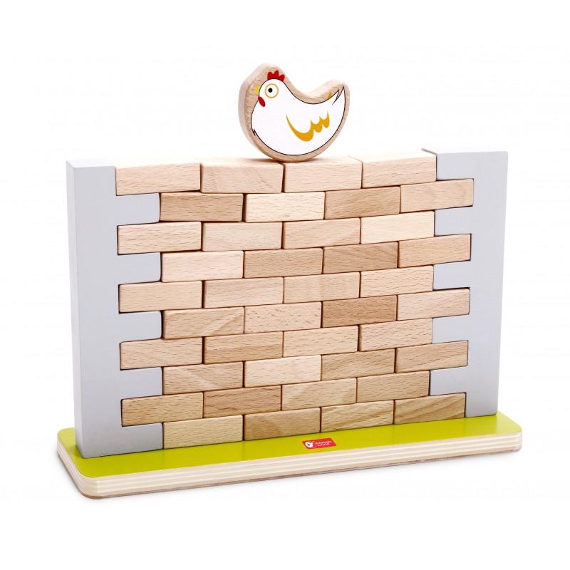 Гра дерев'яна Jenga стіна Classic World