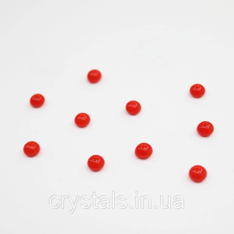 Кабошоны Preciosa (Чехия) 5 мм Coral 93180