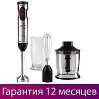 Блендер с чашей Scarlett SC-HB42F45 Black, 1500W, венчик для взбивания, погружной блендер скарлет