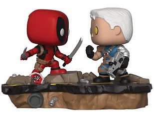 Фігурка Funko Pop Marvel: Comic Moments - Deadpool vs Cable Дэдпул проти Кэйбла BL DP 318