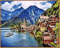 Картина раскраска Летняя Австрия DIY Babylon Premium