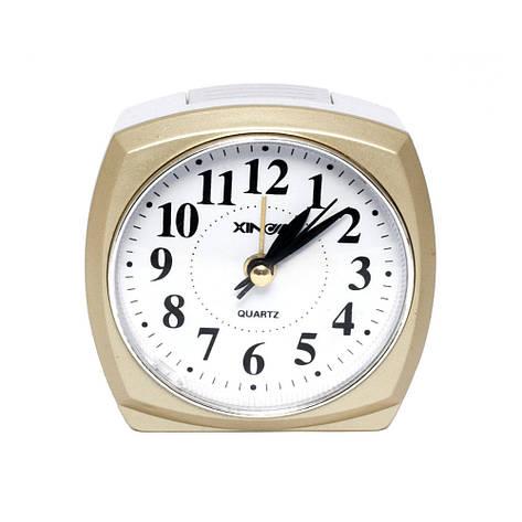 Настольные часы-будильник кварцевые XD-793, фото 2