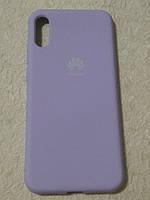Накладка   Silicon Cover full   для  Huawei  Y6  2019  /  Honor 8A ( фиолетовый)
