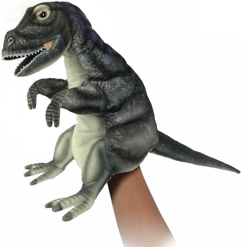 Hansa - Реалистичная мягкая игрушка на руку Альбертозавр, 50 см