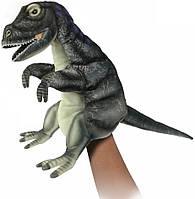 Hansa - Реалистичная мягкая игрушка на руку Альбертозавр, 50 см, фото 1
