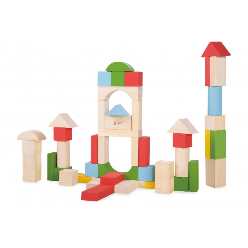 Кубики і блоки дерев'яні Classic World