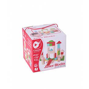 Кубики і блоки дерев'яні Classic World, фото 2