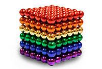 Магнитная игрушка - антистресс Neo Cube цветной (216 шариков, Ø 5 мм), фото 1