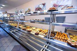 Линии раздачи питания и самообслуживания