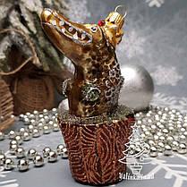 Набор стеклянных елочных игрушек Емеля и Щука Irena, фото 2