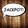 "Табличка ""Jackpot""   Размер 30х20 см"