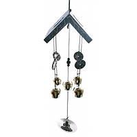 Музыка ветра 5 колокольчиков с монетами 29462