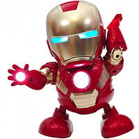 Танцующий  IRON MAN, интерактивная игрушка  железный человек