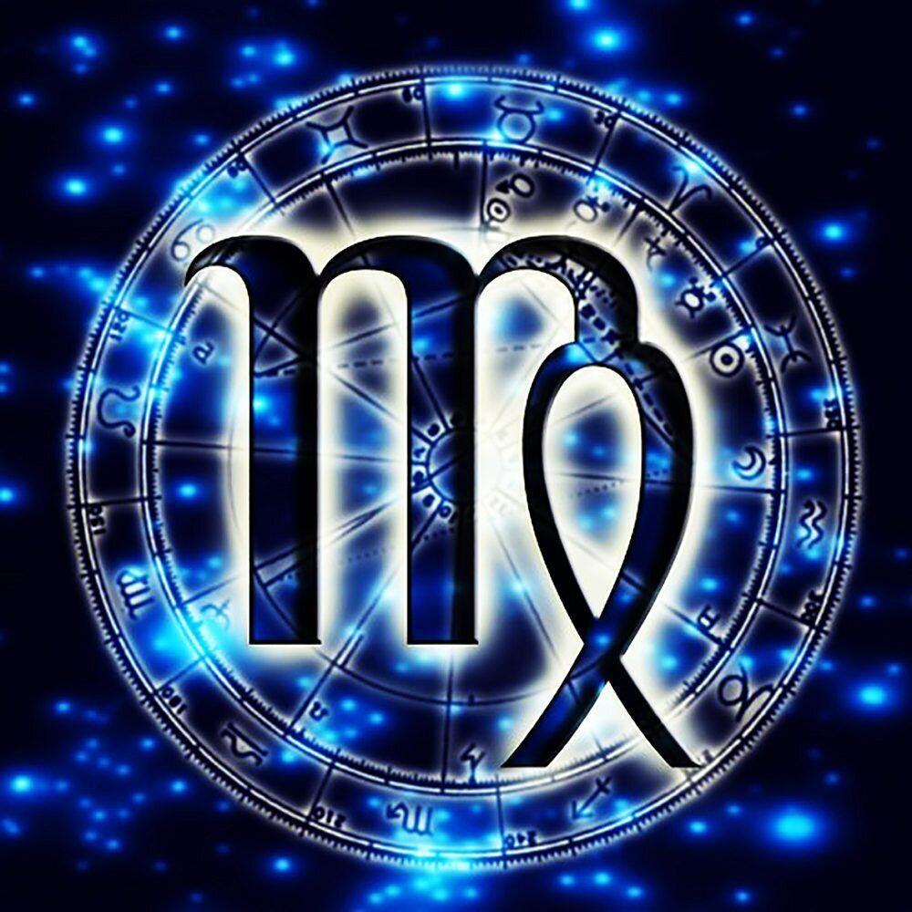 КДИ-0688 Набор алмазной вышивки Знак зодиака. Дева