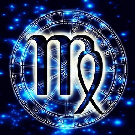 КДИ-0688 Набор алмазной вышивки Знак зодиака. Дева, фото 2
