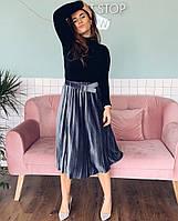 Женская юбка плиссе, фото 1