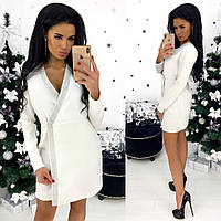 Элегантное праздничное новогоднее платье