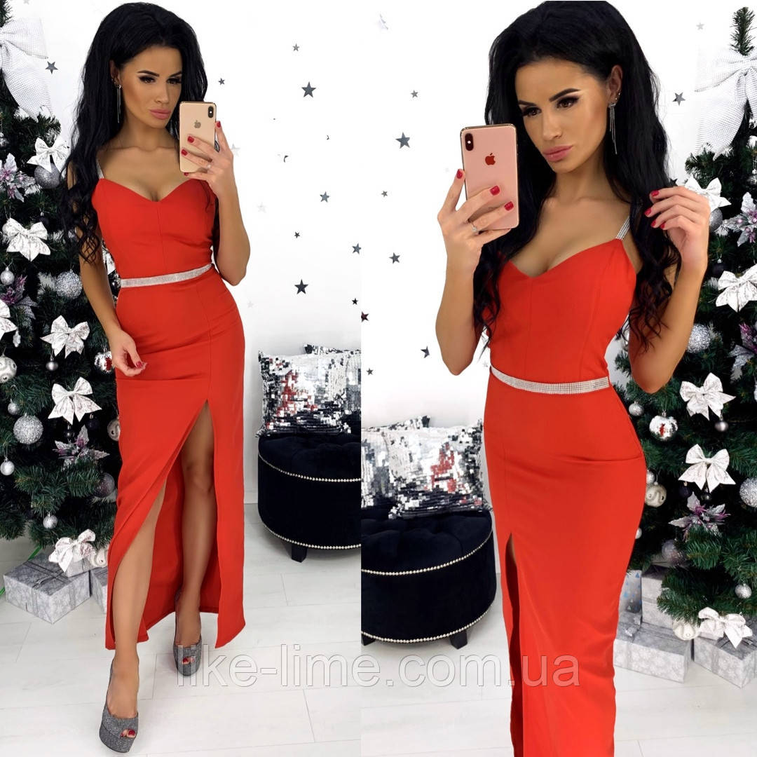 Вечернее праздничное новогоднее платье