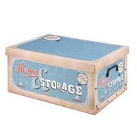 Коробка для хранения с крышкой, 37х31х16 см