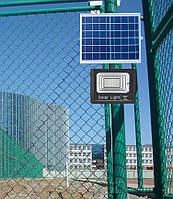 Прожектор на сонячній батареї, 100W\ IP67, 196 LED/ Пульт, таймер. 200м²