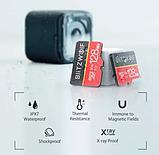Карта памяти BlitzWolf на 16 GB / BW-TF1 Class 10 UHS-3 V30 Micro SD флешка + адаптеры, фото 8