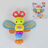 Погремушка развивающая Бабочка, со световыми и звуковыми эффектами - 185672