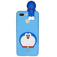 Чехол Cartoon 3D Case для Xiaomi Redmi 6 Кот