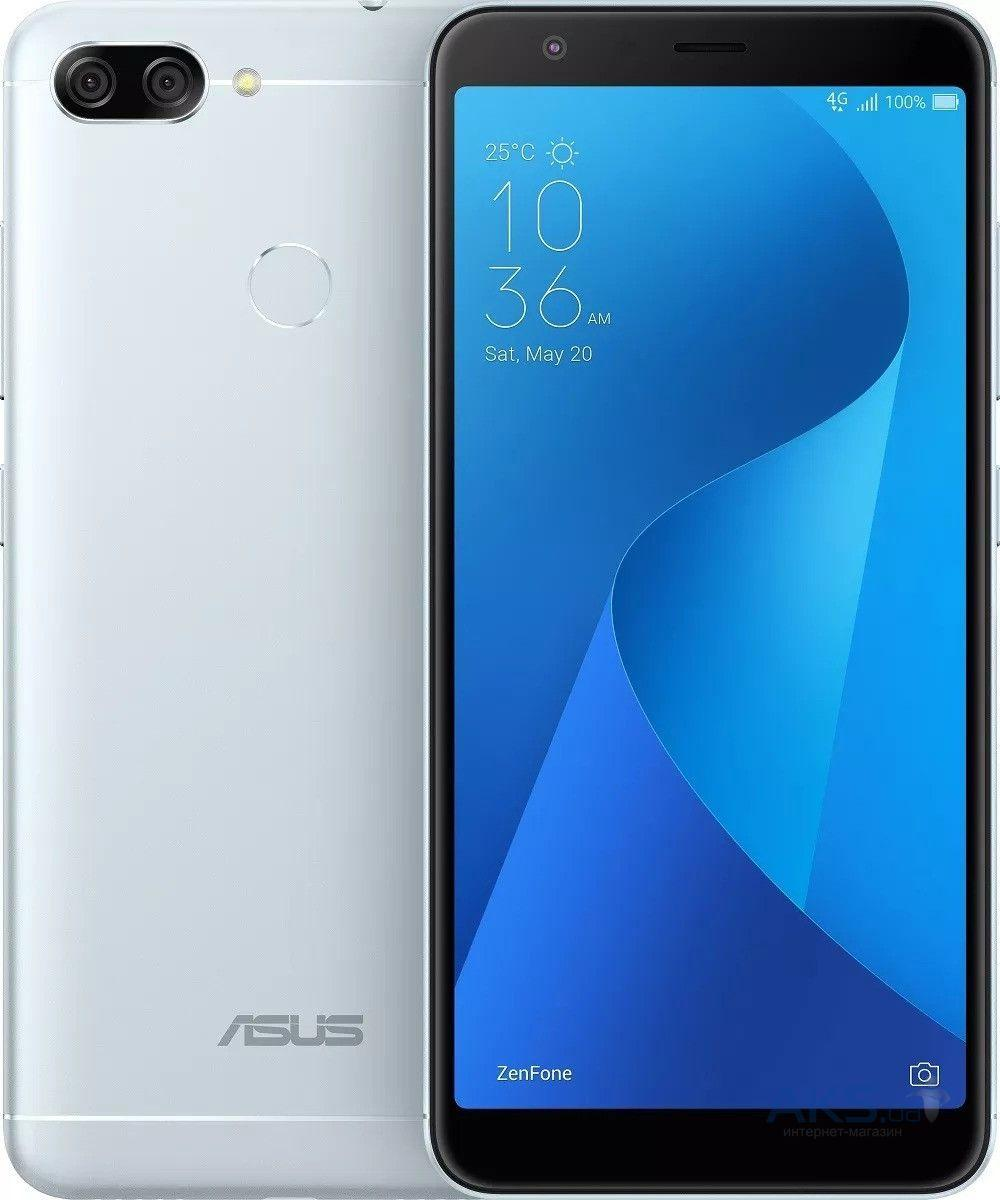 ASUS ZENFONE 4S MAX PLUS (M1) 4GB/32GB (ZB570TL) SILVER Гарантия 1 год!