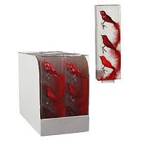 Украшение клипса декоративная Птичка, компл. 3 шт., цвет красный, House of Seasons, фото 3