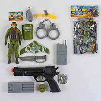 Полицейский набор Спецназ с аксессуарами - 182862