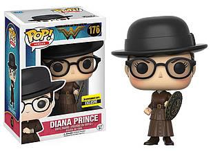 Фигурка Funko Pop Фанко Поп Чудо женщина Диана Принс в очках Wonder Woman Diana Prince 10 см WW DP 176