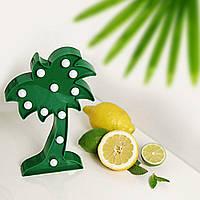 Декоративный ночник Пальма