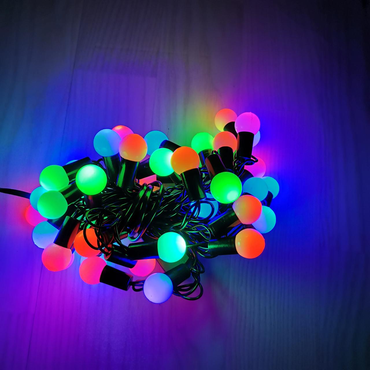 Гирлянда светодиодная LED 28 Шарики Твинки