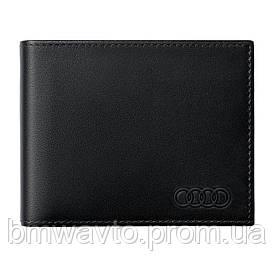 Чоловічий шкіряний міні-гаманець Audi mini Wallet Leather, Mens 2019