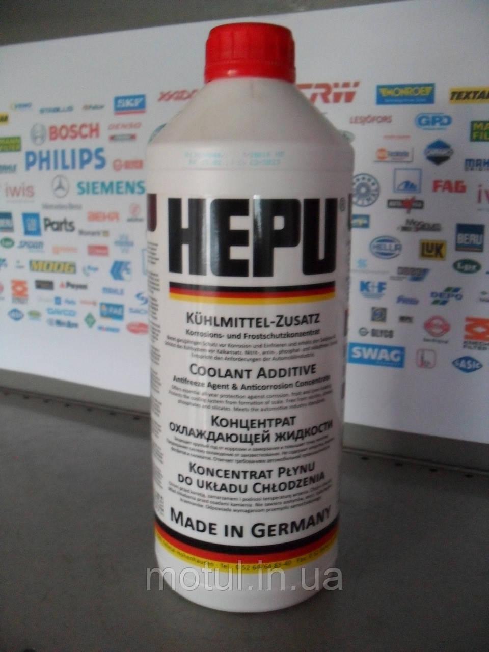 Червоний антифриз G12 HEPU