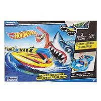 """Трек копія Хот Віл HOT WHEEL HW4456 (48шт/2) серії """"Акула"""", з човнем, в кор. 50*4*32 см"""