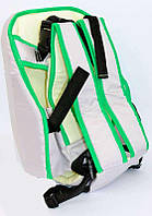 Рюкзак кенгуру, сидя, серый, предназначен для детей с трехмесячного возраста, максимальн - 181640