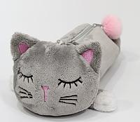 Пенал Серый котик