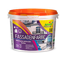 Акриловая фасадная краска Fassadenfarbe Nano farb 7 кг