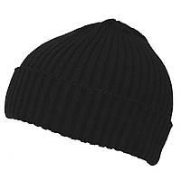 Вязаная шапка крупной вязки MFH черная 10921A