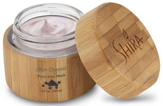 Маска с ягодами асаи для сухой и чувствительной кожи лица Shira Acai mask 50 мл.