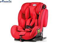 Детское автокресло 1-12 лет 9-36 кг Heyner 786 130 Capsula MultiFix ERGO 3D Racing Red