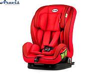 Детское автокресло 1-12 лет 9-36 кг Heyner 796 130 Capsula MultiFix AERO+ Racing Red