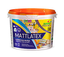 Интерьерная акриловая латексная краска моющая Mattlatex Nano farb 7 кг