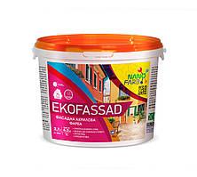 Акриловая фасадная краска Ekofassad Nano farb 4.2 кг